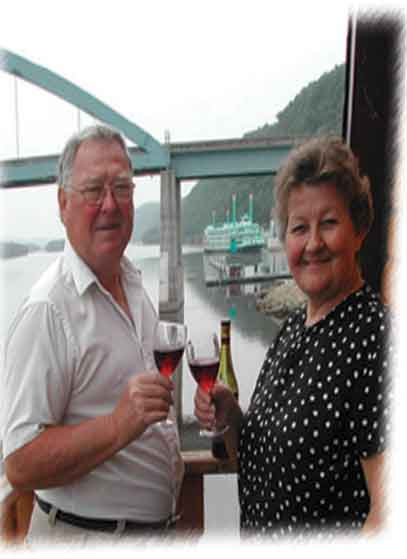 Connie and Roger Halvorson - Eagles Landing Winery